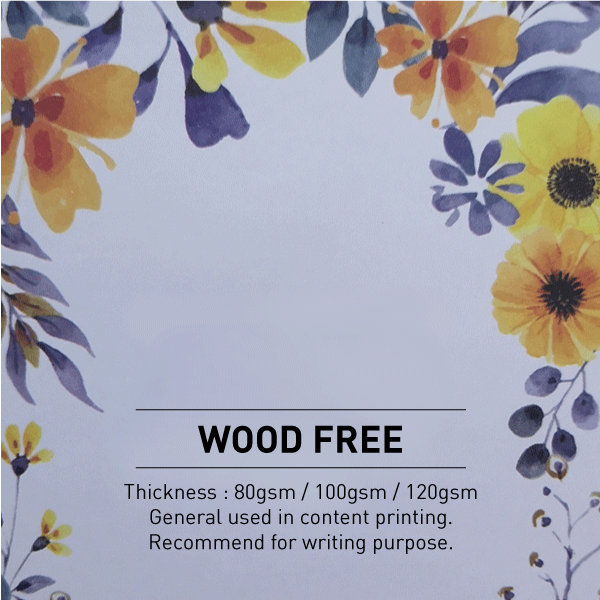 flyer printing singapore wood free material