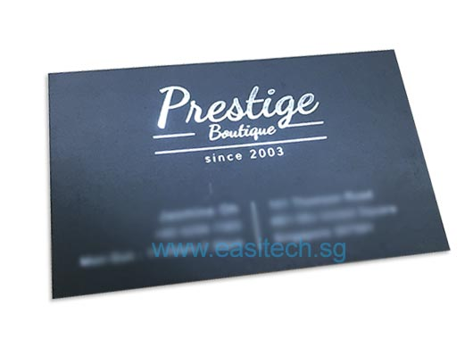 100Pcs Name Card Printing Only Sgd$3.20 - Easitech.Sg