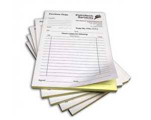 ncr book printing l ncr forms printing for invoice receipt or