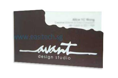 100pcs name card printing only sgd320 easitech reheart Image collections