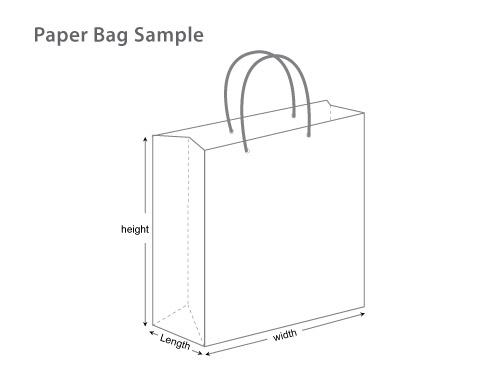 Shopping Bag Template Illustrator Easitech Product Details Paper Supplier In Singapore L Custom